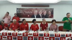 Conforme antecipado, PT confirma Nelson Lira como vice de Charliton Machado