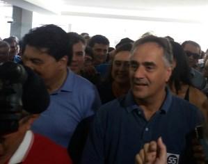 """""""Não vamos menosprezar os adversários"""", afirma Cartaxo durante convenção do PMDB"""