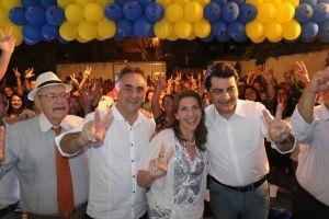 Após anúncio, Cartaxo, Manoel Jr e Ruy Carneiro fazem primeira aparição pública