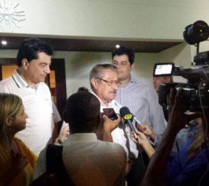 """Maranhão rebate Cida sobre apoio de ala avançada do PMDB: """"Ela desqualifica o partido"""""""