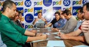 Cartaxo comanda fórum de partidos e cita união para início da campanha