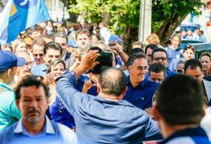 Luciano Cartaxo realiza hoje primeira caminhada da vitória em Mangabeira