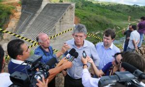 Governador inaugura nova Barragem de Camará nesta sexta-feira