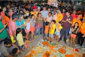 Cida participa de evento com cadeirantes e garante cidade inclusiva