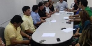 Prefeito se reúne com base aliada para traçar estratégias de atuação na CMJP