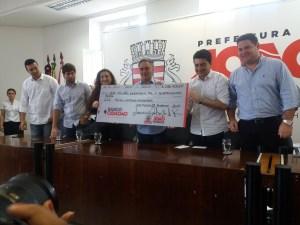 Prefeito faz nova liberação de crédito e supera R$ 34,6 milhões em investimentos