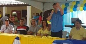 Durante convenções no Conde, PSDB filia Júnior e Patrícia Rodrigues