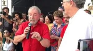 """""""Se quiserem brigar comigo, vão ter que brigar nas ruas desse país"""", diz Lula"""