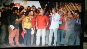 """""""Quanto mais batem em Lula, mais ele cresce"""", diz Ricardo Coutinho durante discurso"""