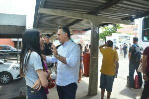 Prefeito visita Terminal de Integração no Varadouro e anuncia reforma