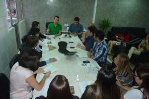 Colegiado de líderes e servidores discutem reforma no Regimento Interno da CMJP
