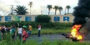 Greve geral: Protestos fecham principais avenidas de João Pessoa e BR-101