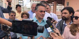 """""""Eles querem antecipar a eleição"""", diz Cartaxo sobre crítica de Hervázio"""