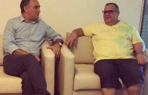 Cartaxo visita Rômulo, afasta especulações sobre saída do PSD e afina discurso para 2018