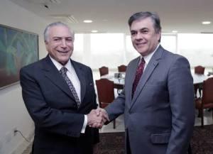 Após um ano do governo Temer, Cássio diz que o Brasil saltou de um grande absimo