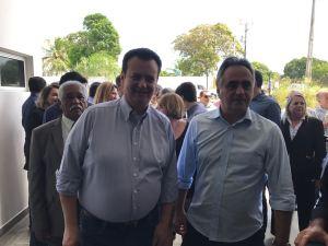 """Kassab garante apoio a Cartaxo em 2018: """"Será um grande governador"""""""