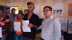 Superintendente do Incra entrega 370 títulos de terra a agricultores em Araruna