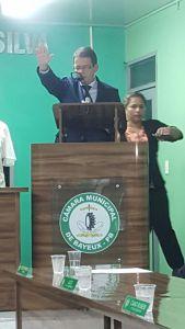 Durante discurso de posse, Luiz Antônio anuncia medidas emergencias em Bayeux