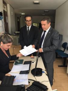 João Almeida protocola pedido de anulação de eleição da Câmara de João Pessoa