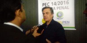 Cássio lamenta tragédia que vitimou Fabão e defende choque de gestão contra violência