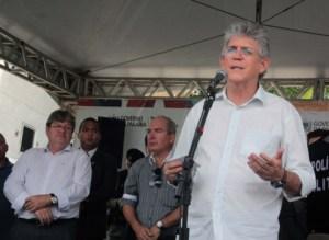 Em Campina, Ricardo diz que oposição tem discurso vazio e só 'brinca de eleição'