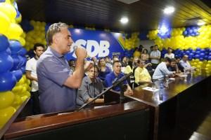 Com Cássio, Maranhão e Romero, Luciano prega união e resultados para PB