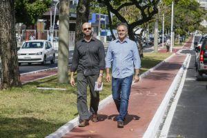 Cartaxo inspeciona Beira Rio e promete conclusão da obra no primeiro trimestre de 2018