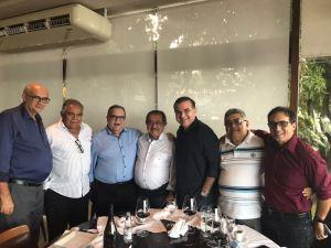 BASTIDORES: Maranhão volta a se encontrar com Rômulo Gouveia durante almoço em JP