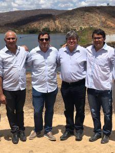 Gervásio Maia e João Azevedo realizam visita técnica no Vale do Piancó