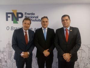 Cartaxo participa de reunião da Frente Nacional de Prefeitos em Brasília