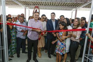 Cartaxo entrega primeira Escola Bilíngue da rede pública de João Pessoa e aulas começam dia 5