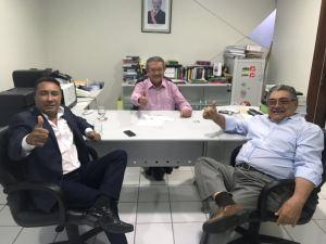 Samuka se reúne com Maranhão e analisa filiação ao MDB para disputar vaga à Assembleia Legislativa