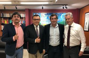 Em Brasília, Gervásio se reúne com lideranças do PSB para debater assuntos de interesses da PB e conjuntura política