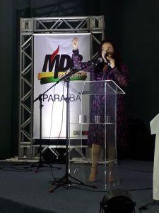 MDB discute violência contra mulher em evento alusivo ao 8 de Março no Hotel Tambaú