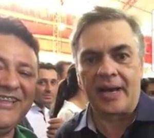 PT suspende filiação de vereador por participar de evento do PV e gravar vídeo com Cássio; veja