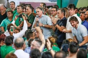 PV reúne mais de 2 mil pessoas, empossa novo Diretório Estadual e reforça nome de Lucélio ao Governo