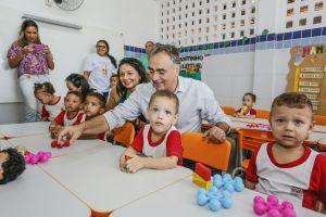 PMJP entrega requalificação de creche em Mangabeira e já são 60 no novo padrão de qualidade