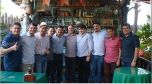 Em almoço para Lucélio Cartaxo, Romero reúne  prefeitos aliados em Campina Grande