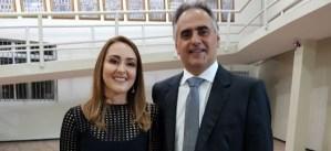 "Exclusivo: Micheline Rodrigues admite ser vice de Lucélio: ""Será uma honra participar da chapa"""