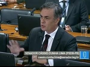 """""""Estamos incendiando o país com nossa insensibilidade"""", diz Cássio durante debate no Senado"""