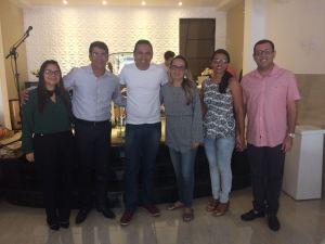 Pré-candidato a deputado estadual, Leo Micena cumpre intensa agenda de atividades e recebe apoios