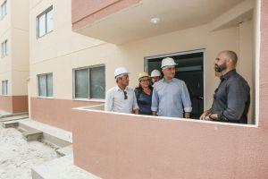 Prefeito vistoria conclusão das obras do Residencial Novo São José que contemplará 336 famílias