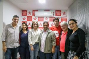 Gleisi Hoffman se reúne com PT da Paraíba e ratifica protagonismo do partido nas eleições estaduais
