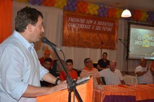 Em Cajazeiras, Gervásio se reúne com juventude e discute conjuntura política e econômica do país