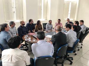 Luciano Cartaxo reúne secretariado e define medidas para reduzir efeitos da crise de desabastecimento