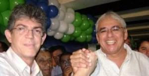 Ricardo se reúne com Efraim e avança entendimentos sobre participação do DEM na chapa