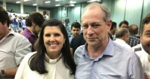 Eleições 2018: Lígia Feliciano lança pré-candidatura ao Governo do Estado ao lado de Ciro Gomes