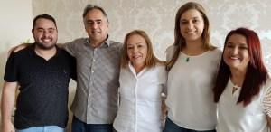 Em encontro, Eva Gouveia reforça apoio do PSD a Lucélio Cartaxo