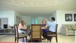 Ao lado de secretários de saúde, Micheline discute propostas recebidas no Nova Paraíba