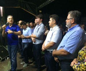 Aguinaldo cumpre agenda em Aroeiras e destaca atuação da prefeitura durante inauguração de mais um UBSF